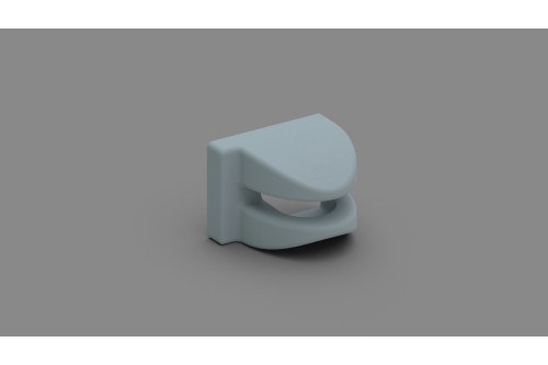 KIT LOWER COVER SECURITY GREY