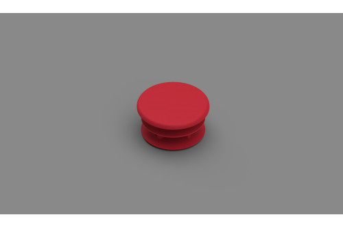 BOUCHON ROUGE A AILLETES CB/DELUXE