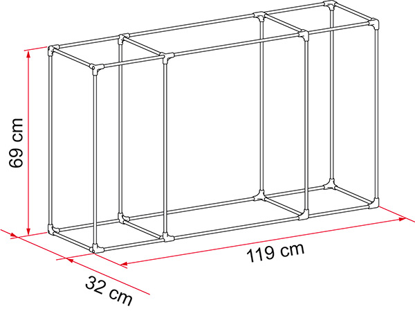 Kit Frame Cargo Back