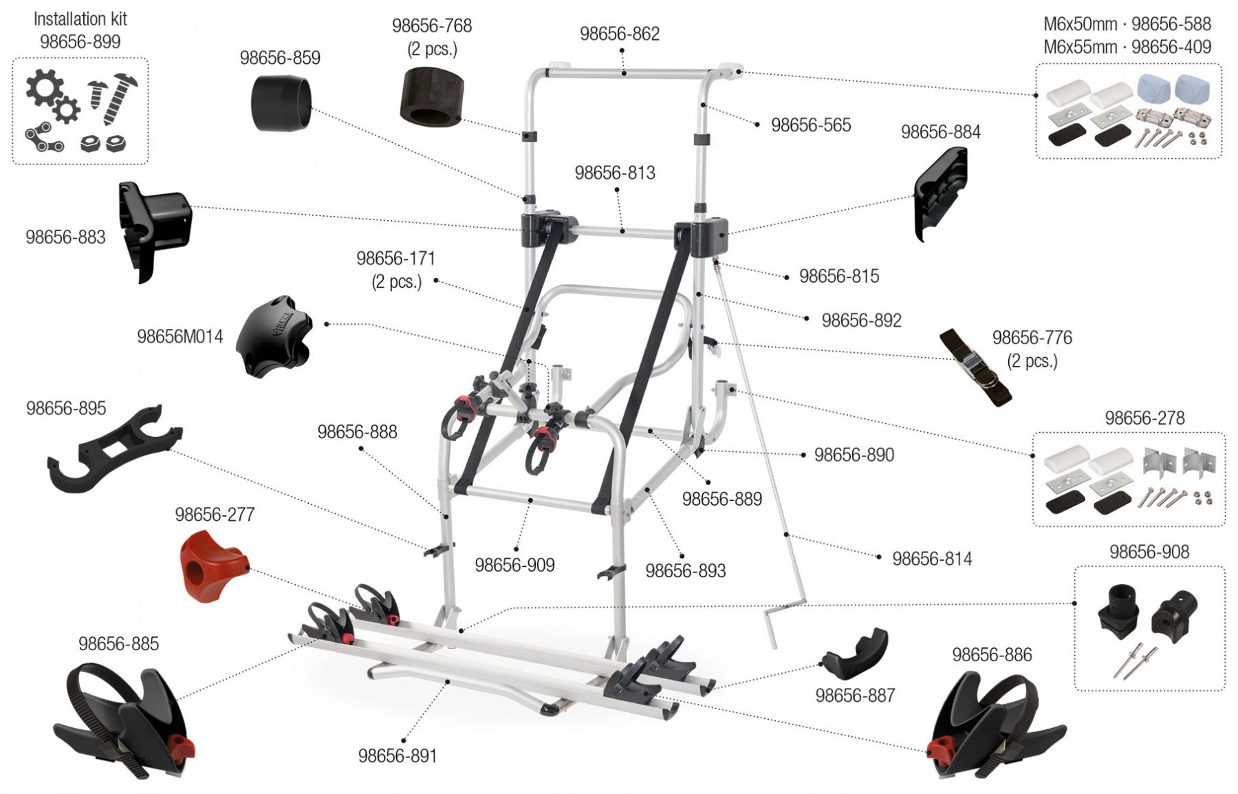 Carry-Bike Lift 77 E-Bike (02093D43-)