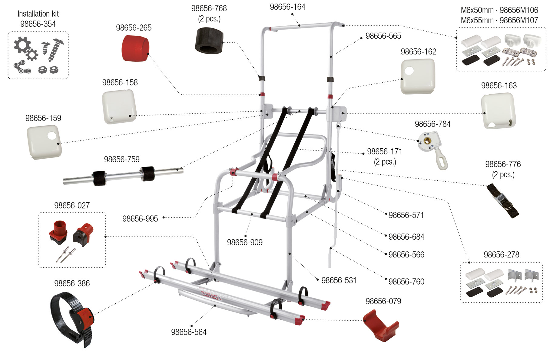 Carry-Bike Lift 77 · 02093A43-